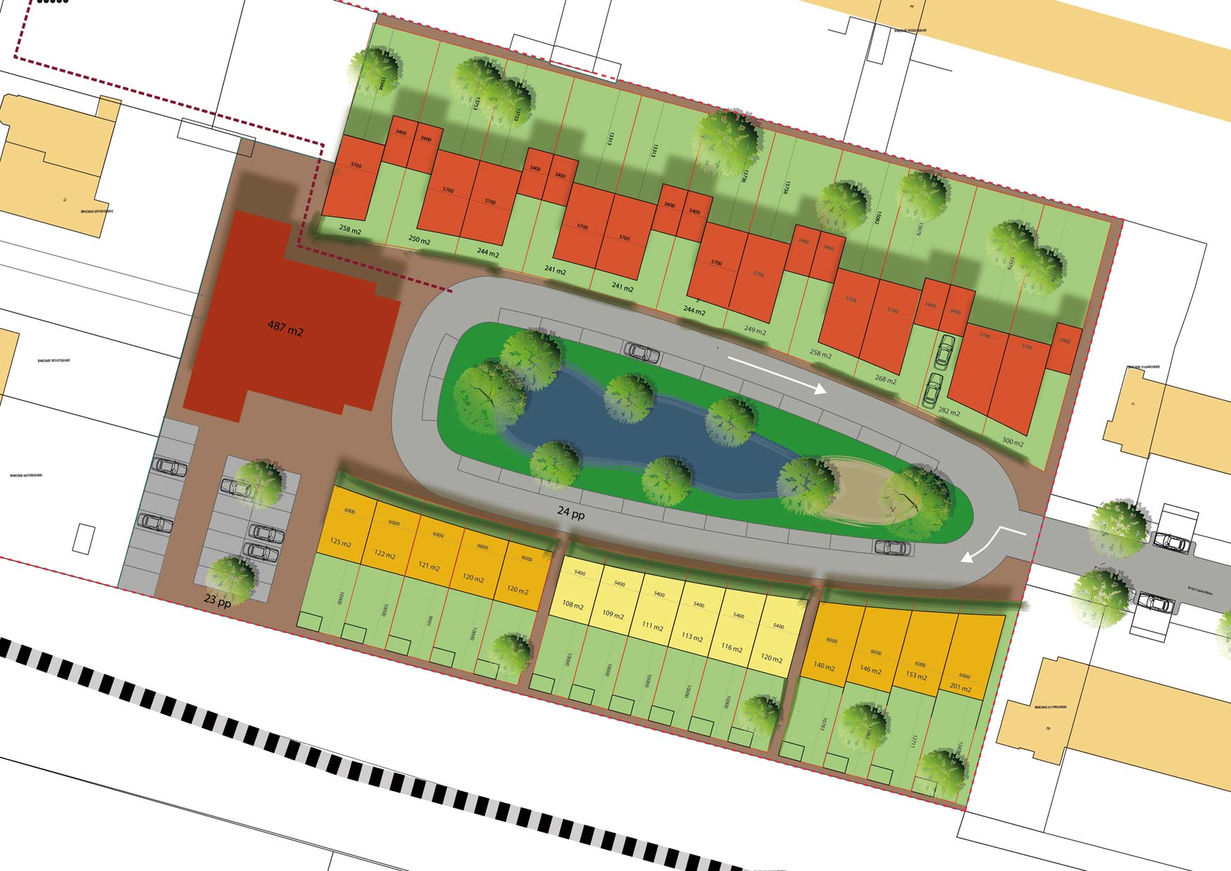 Park wimbledon overveen stedenbouwkundig plan
