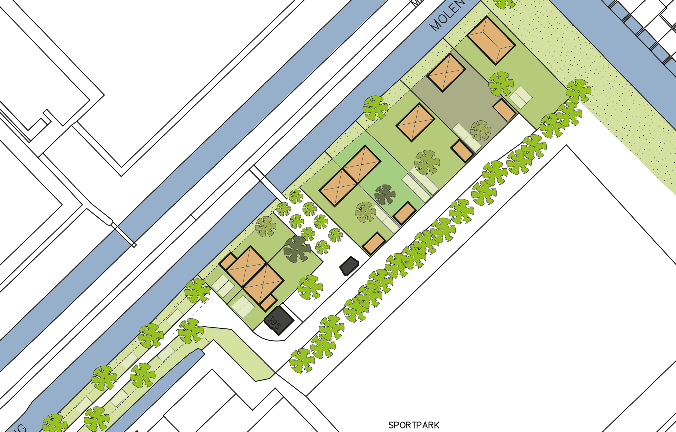 plattegrond planning middenweg watergraafsmeer amsterdam