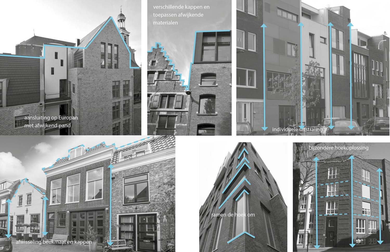 Bebouwing in Koningstein, Haarlem