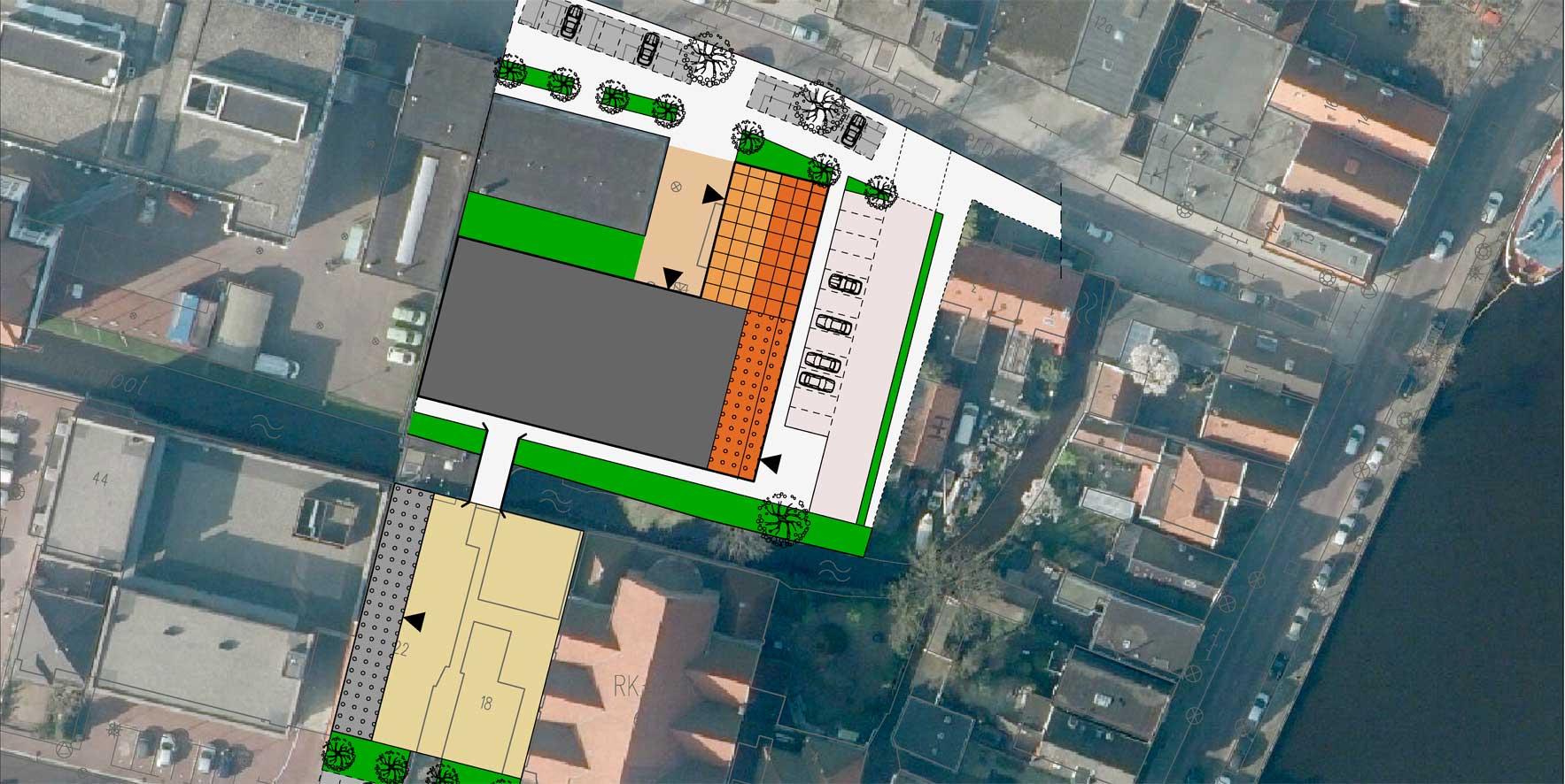 Toermalijn stedenbouwkundige inpassing Zaanstad