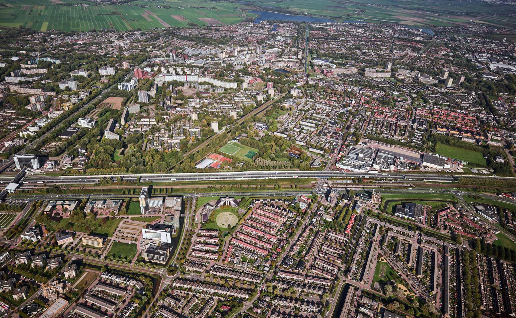 luchtfoto Zoetermeer
